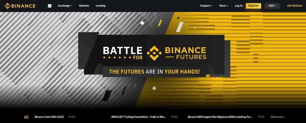 giełda bitcoin binance